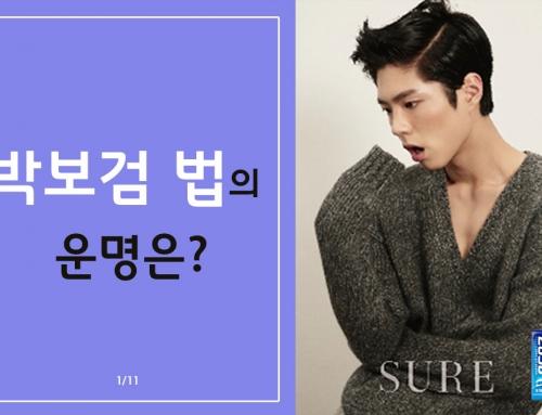 [카드뉴스] 박보검 법의 운명은?